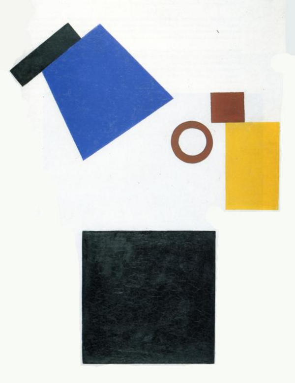Suprematism  Two Dimensional Self Portrait